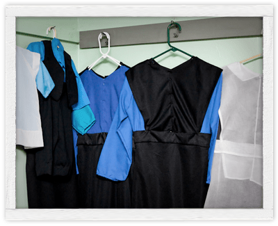 Traditional PA Amish dress and clothing