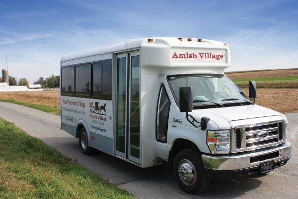 The Amish Village Tour Bus