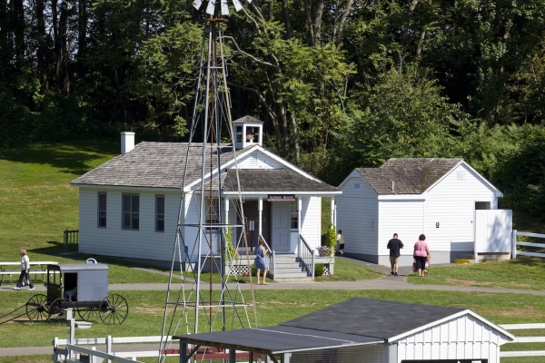 Amish Village property and outbuildings