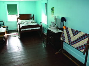Amish farmhouse bedroom