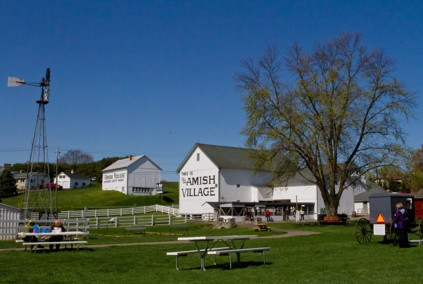 Amish Village picnic area